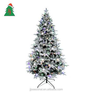 jj seasonal waterproof small 7ft pvc pe fake white christmas tree - Fake White Christmas Tree