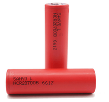 SANYO 20700B 20700 4250mAh battery NCR20700B 12A high rate battery cell