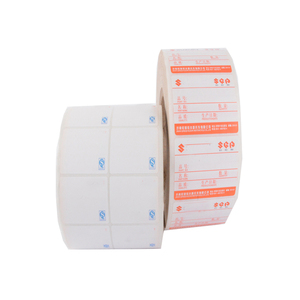 quality product packing label printing PVC barcode stickers
