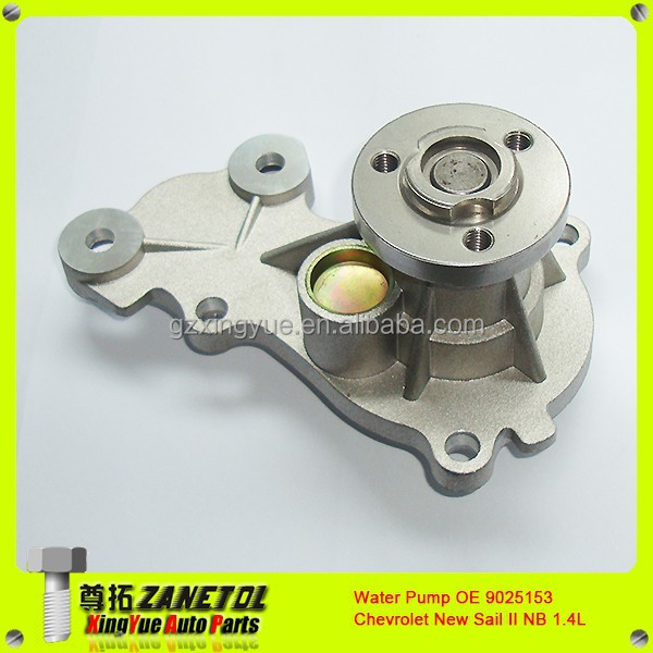 Motor Auto Water Pump Chevrolet New Sail II NB 1.4L OE 9025153