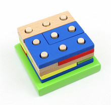 FQ brand hot sell kid toy wooden block children education toys building blocks