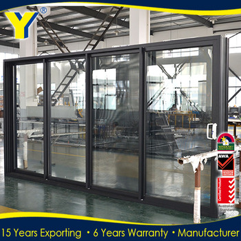 Australia Usa Hot Sale Used Commercial Sliding Glass Doors
