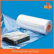 Custom order airtight packing soft PVC/BOPP shrink wrap film for storage box/bottle packaging