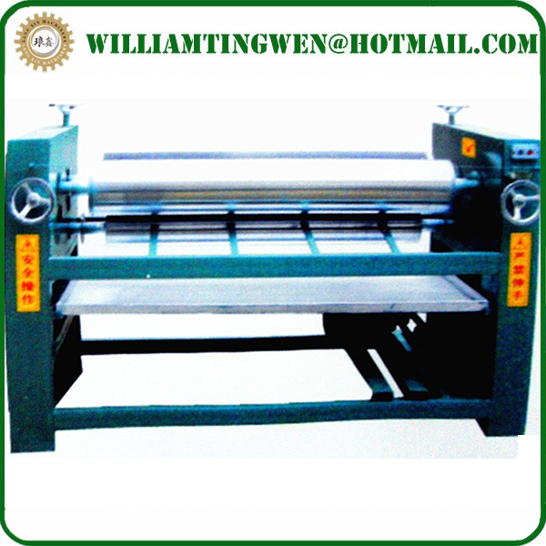Four Rollers Double Sizes Veneer Making Machine Glue Spreader Roller