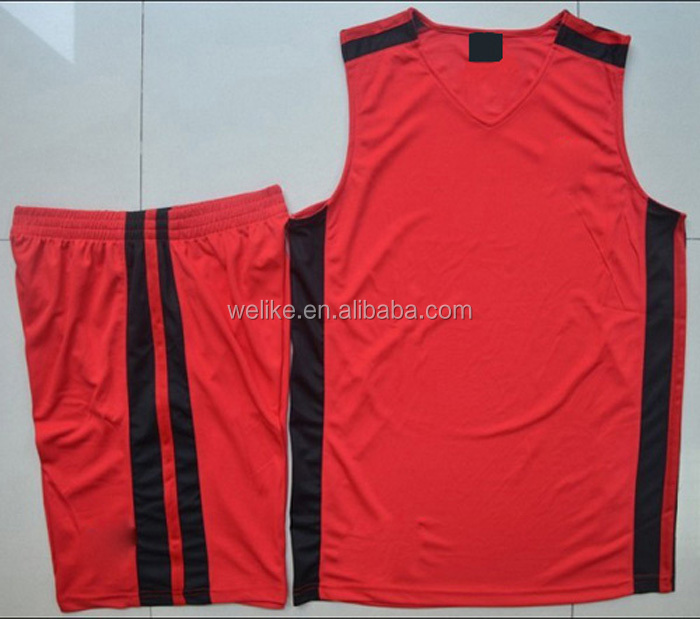 30eef9aaf84 2014 new design basketball uniform casual basketball jersey wear red basketball  jersey and short