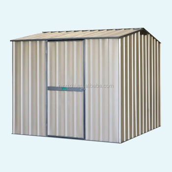 Attrayant Prefab Backyard Shed Corrugated Steel Garden Shed  DIY Steel Kit  Storage  Sheds Sale