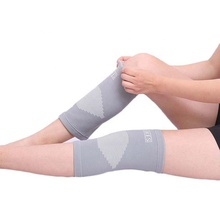 Resistente <span class=keywords><strong>Nylon</strong></span> Knitting Elastic Knee Brace Protector