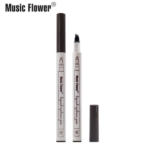 Music Flower Best Offers Today 3 Colors Fine Sketch Permanent Waterproof Tattoo Eyebrow pen