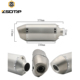 ZSDTRP Universal Motorcycle Modified Titanium Muffler Exhaust pipe silencer Fit for most motorcycle ATV Nice Sound