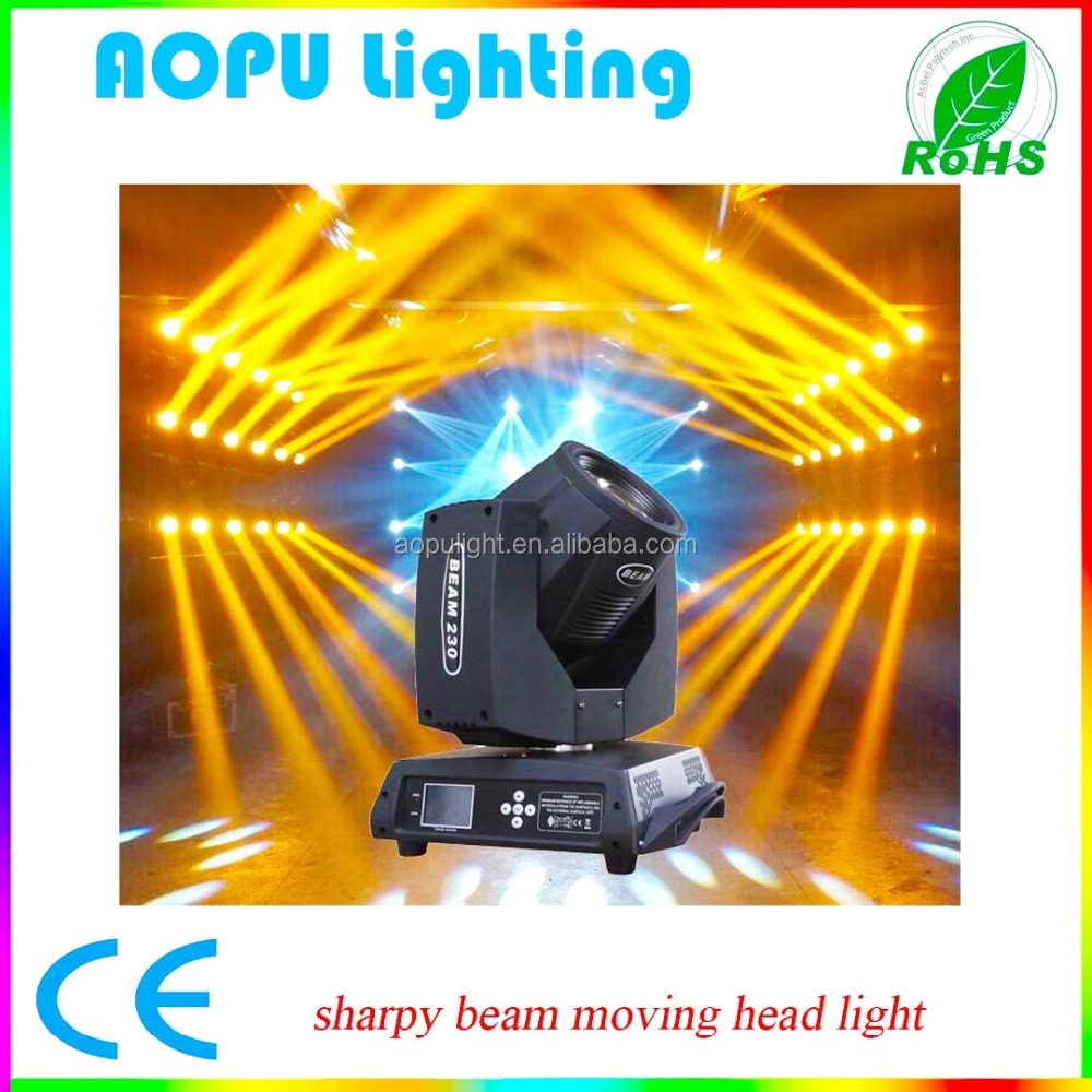 Clay Paky 230w Sharpy 7r Beam Moving Head Light