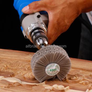 Abrasive Nylon Wood Wire Brush Sanding Machine Buy Wood