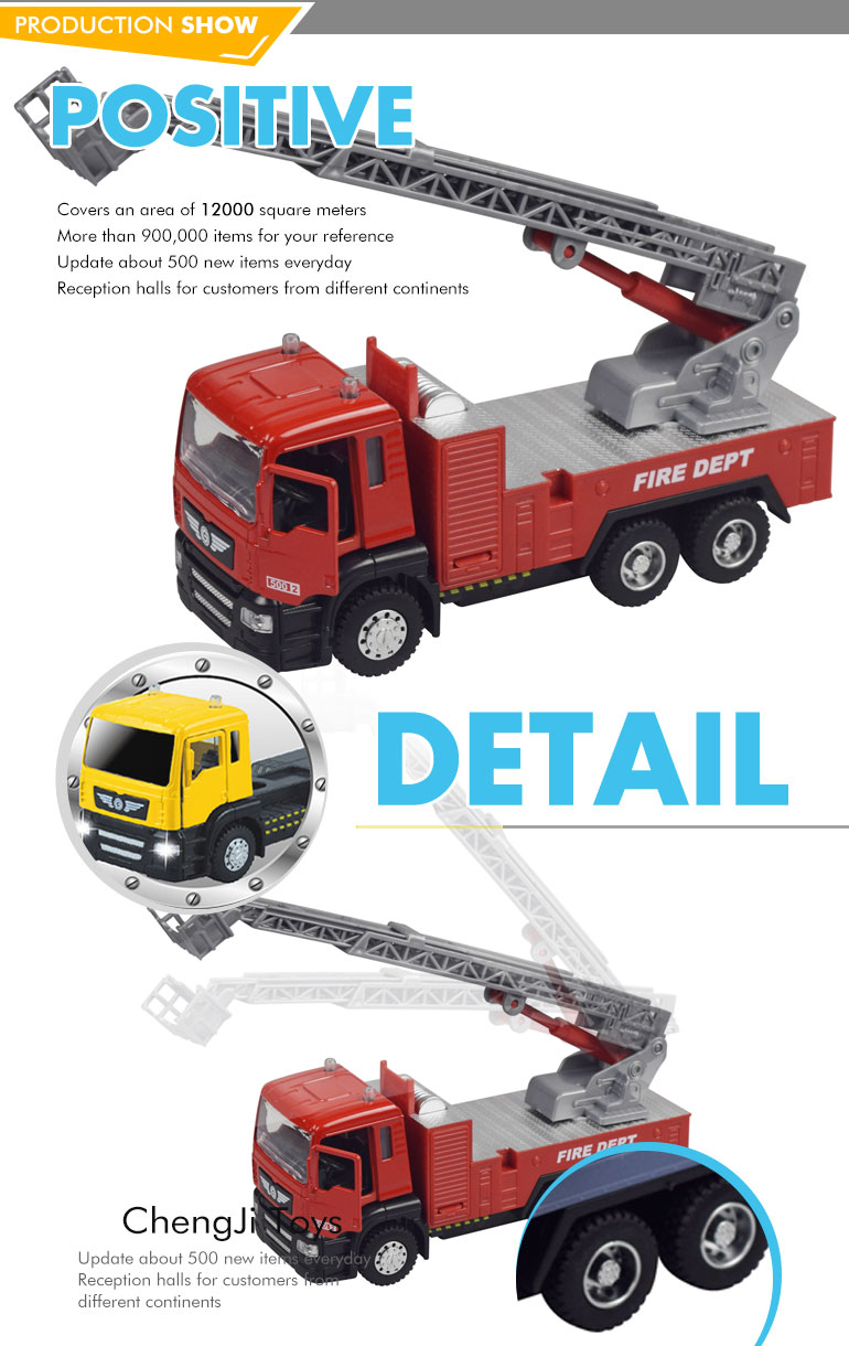 Hot sale 1/50 scale diecast model metal truck for kids