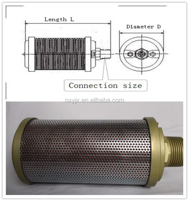 High Pressure Silencer : High pressure resistant air exhaust muffler buy