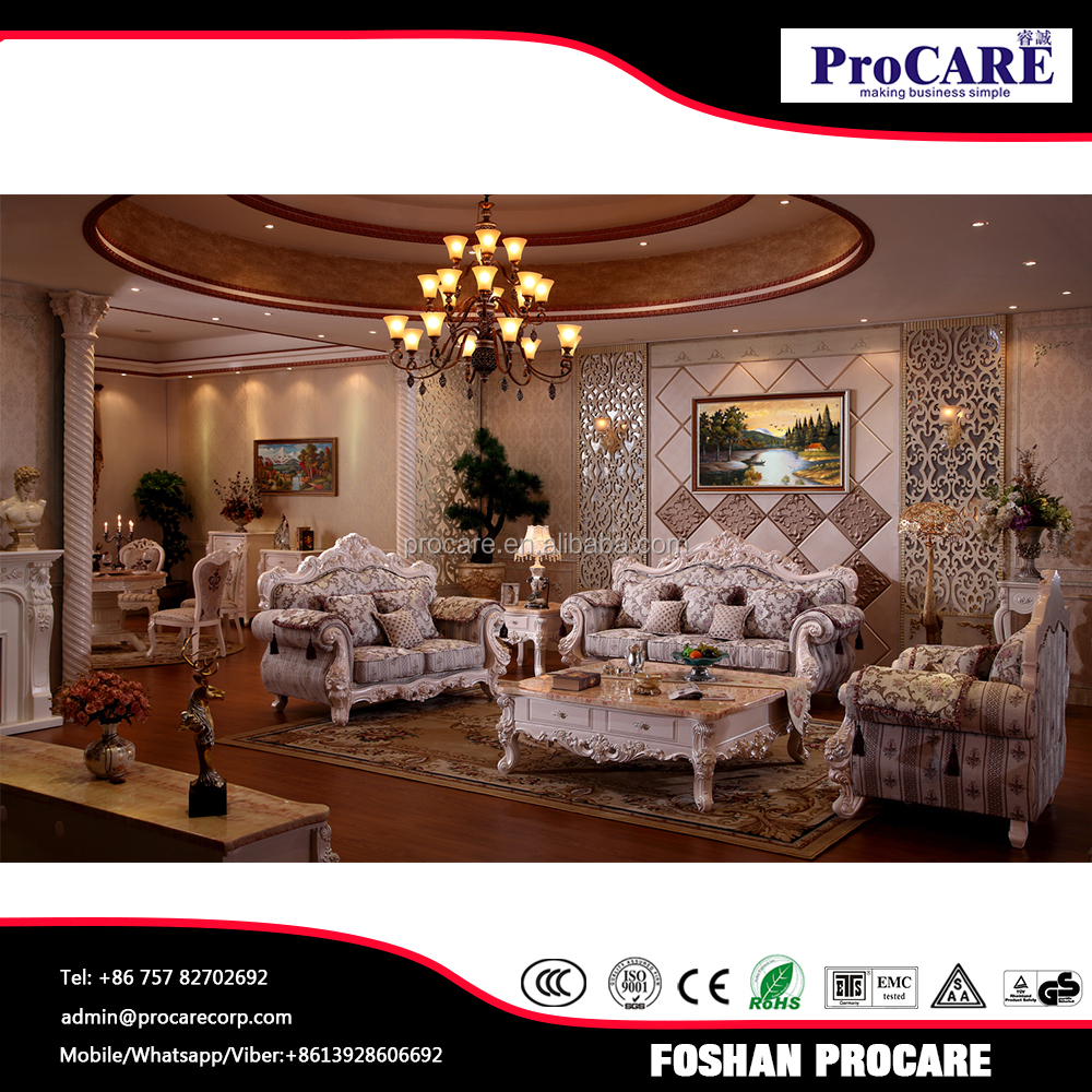 Country Living Room Furniture Sets: French Country Sofa Set Living Room Furniture For Sale