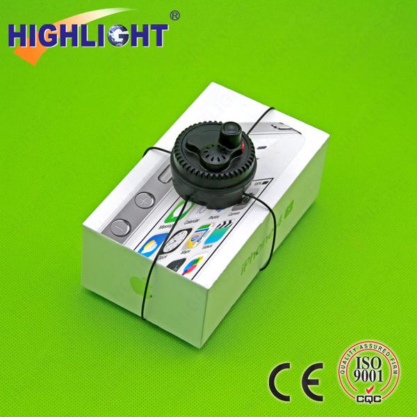 9 Alpha 1 Alarm Mini Spider Wrap retail anti-theft device Security Tag USED