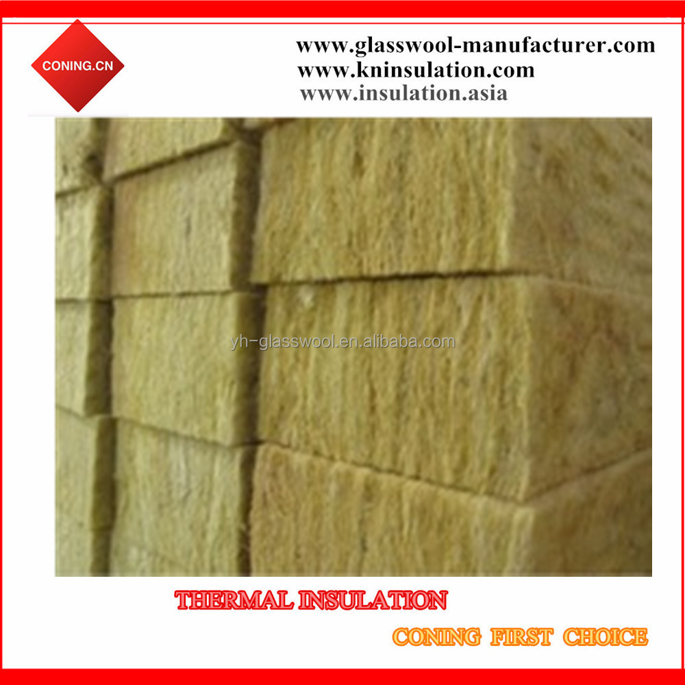 Superior Quality Heat insualtion sound rock wool board/ roofing insulation