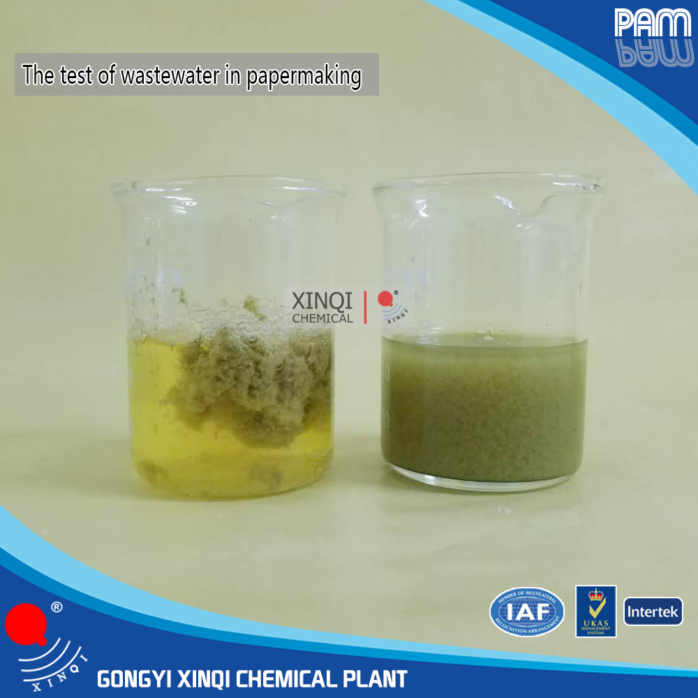 Flocculant and coagulant chemical raw material pam/polyacrylamide  PAM