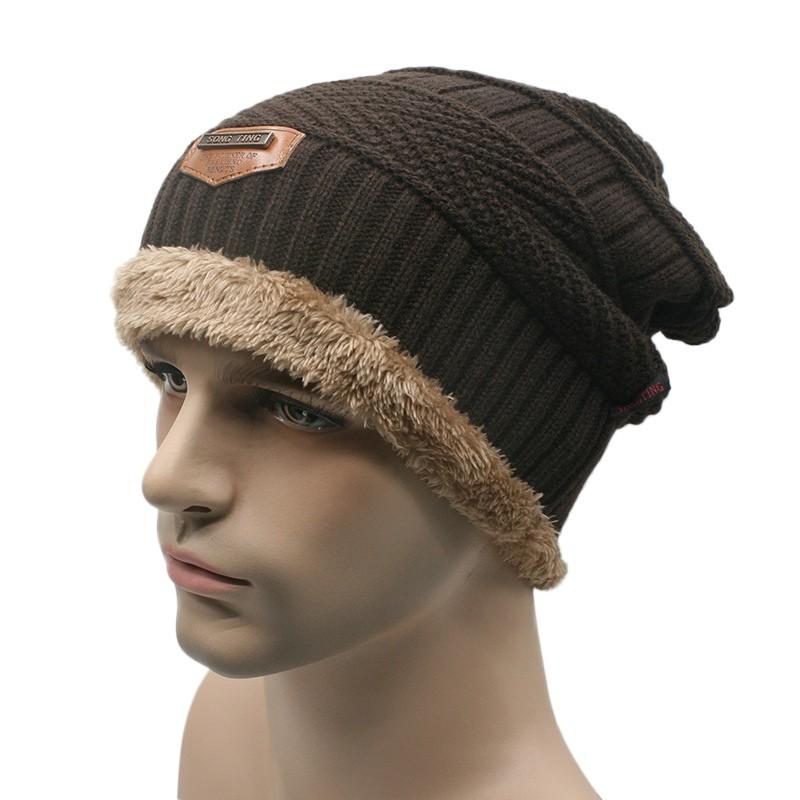 cf2c15eed Unisex Women Men Sports Camping Hat Winter Beanie Baggy Warm Wool Ski Cap
