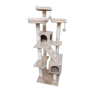 Cozy Pet Deluxe Multi Level Cat Tree Scratcher Activity Centre Scratching Post Heavy Duty Sisal Cat Trees