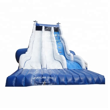 NEVERLAND TOYS Outdoor Inflatable Water Slide Commercial Grade Inflatable Slides for Adults Large Water Slide for Sale