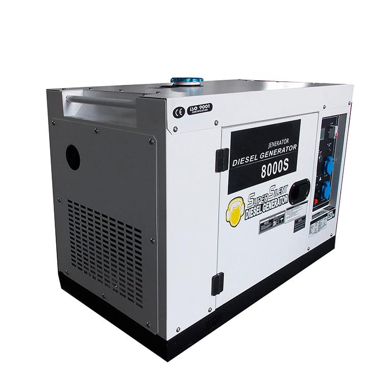 New type hot sale 6kw 7kw silent diesel power generator