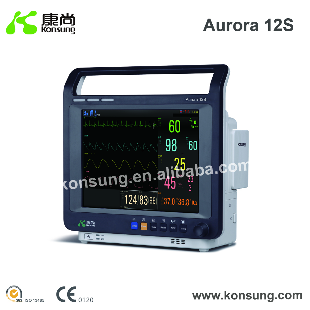 Handheld, First-Aid Devices, Emg medical equipment Type 6 parameters Operating Room Physiological analysis type patient monitor