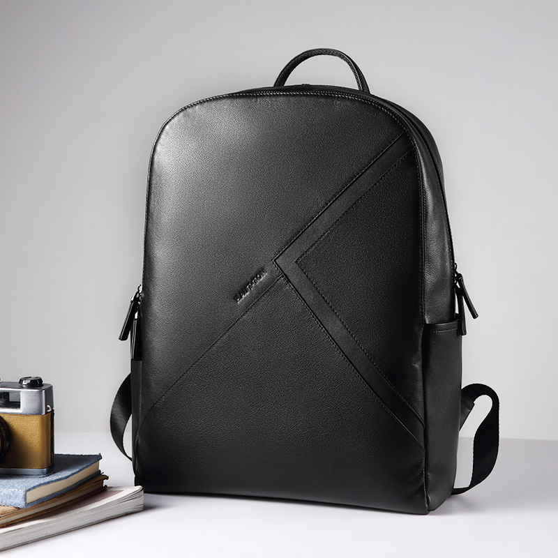 27626667d910 Hautton New Designer Top Leather Daily Outdoor Travel Backpack School Bag  Men Laptop Backpack - Buy Men Leather Backpack,Backpack School Bag,Laptop  ...
