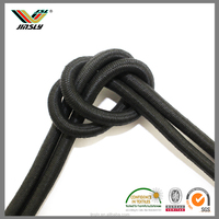 Factory direct custom paper rope durable polyester drawstring wax cord