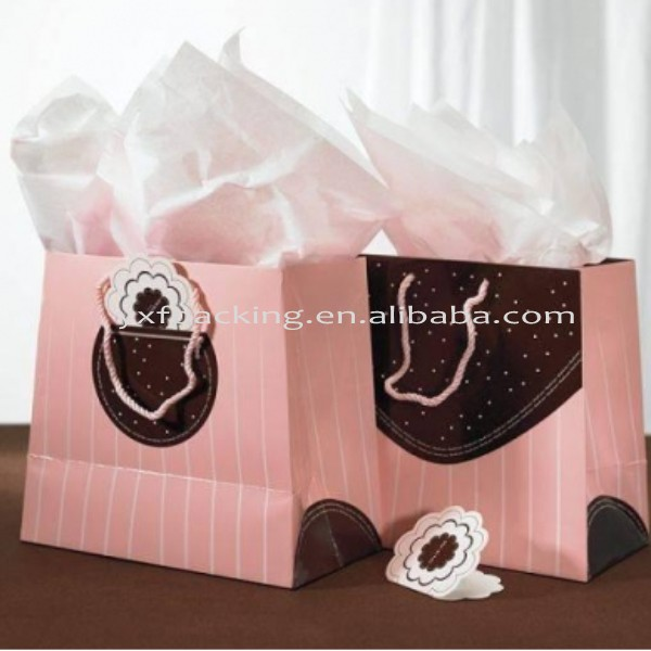 Shoe paper packing bags free samples