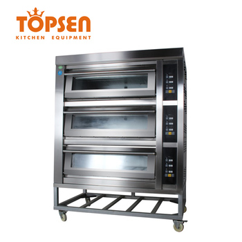 Luxury 3 Deck 6 Layers Electric Deck Oven Cheap Price