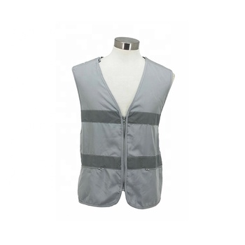 Good Selling Anti-wrinkle Cool Black Man Vest with Pocket