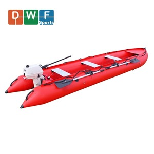 CE certificate professional hypalon material inflatable fishing kayak with cheap price
