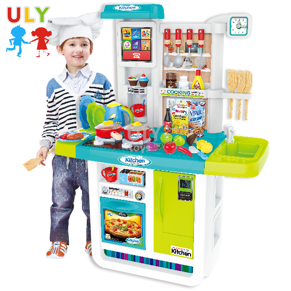 New style kids gift role happy play pretend child kitchen set toy