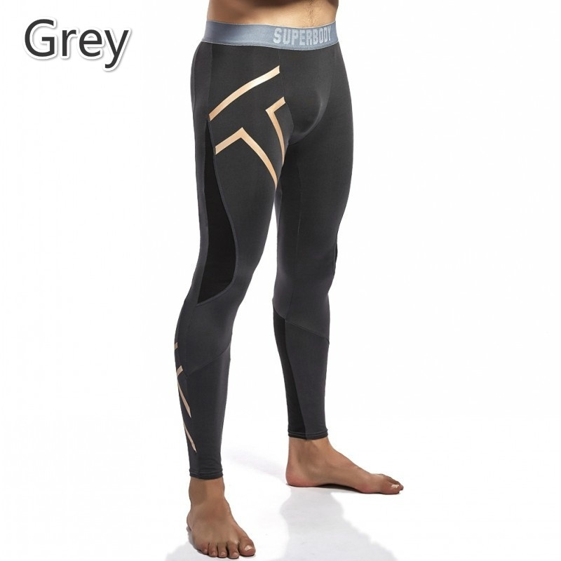 Hot Sale Mens Compression Pants Baselayer Quick Dry Sports Tights Baselayer Running Leggings фото