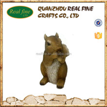 custom resin toy squirrel statue decorations wholesale
