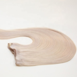 New Products Wholesale 100% Natural Human Hair Weft
