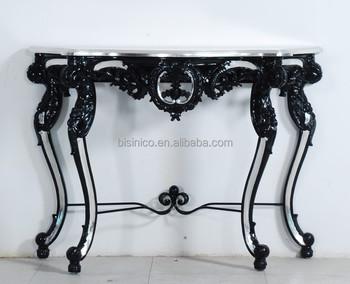 Luxe huis decoratieve houten console tafel antieke hand gesneden