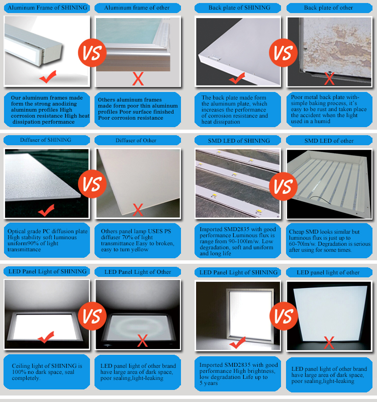 Chinese High Quality Led Light Suspended Ceiling Lighting For ...