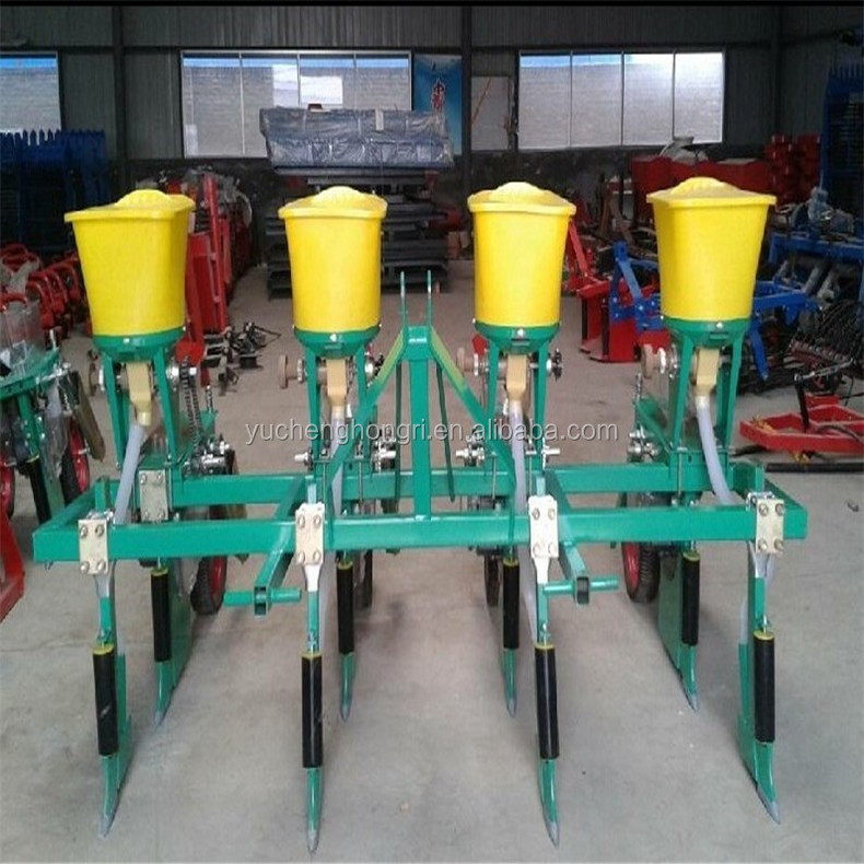 Small Tractor Corn Planter 4 Row Corn Planter Corn Seed Planter For