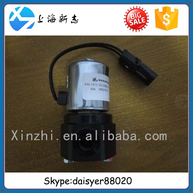 Shangchai CNG engine WOODWARD High-pressure solenoid valve 1311-1013 Weichai high-pressure cut-off valve 13034249 for wp6 CNG
