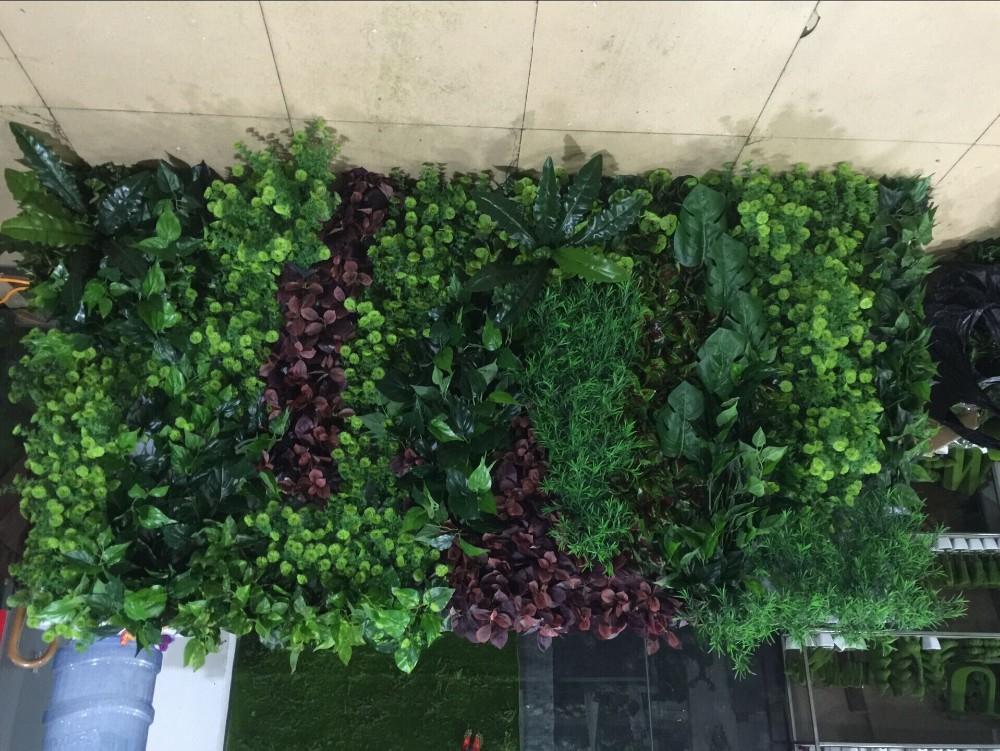 Indoor Wall Art Hall Decorative Artificial Green Climbing