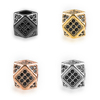 2018 Nes DIY Brass Jewelry Findings & Components Small Cube Bracelet Metal Bead