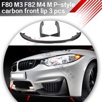 M P-style carbon F80 m3 f82 m4 for car f8X 2015y carbon Performence set/mirror/lip/diffuser/side fin /wing