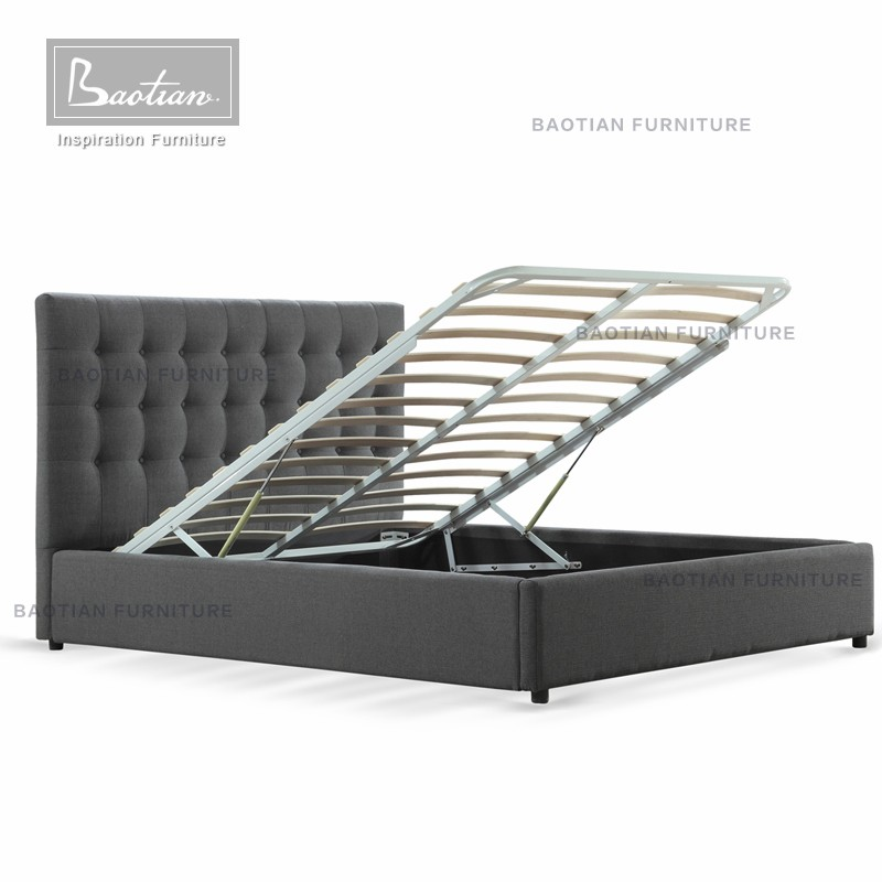 ac06fbb19d04 New Design King Size Hydraulic Lift Up Storage Bed - Buy Lift Storage ...