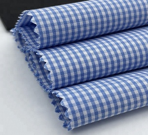 100% COTTON YARN DYED GINGHAM CHECK FABRIC FOR SHIRT