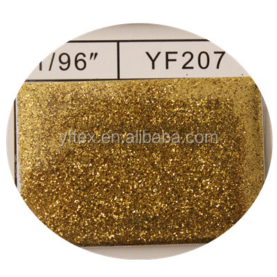 Wholesale High Quality polyester gold Glitter kg Powder kg For Crafts and Printing YF207