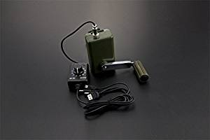 Angelelec DIY Open Source Power Module, Hand Micro-Generator, Portable Hand Power Operation and Charging Emergency Power Supply, Field Operations, Field Trips, Rescue Operations, Natural Disasters