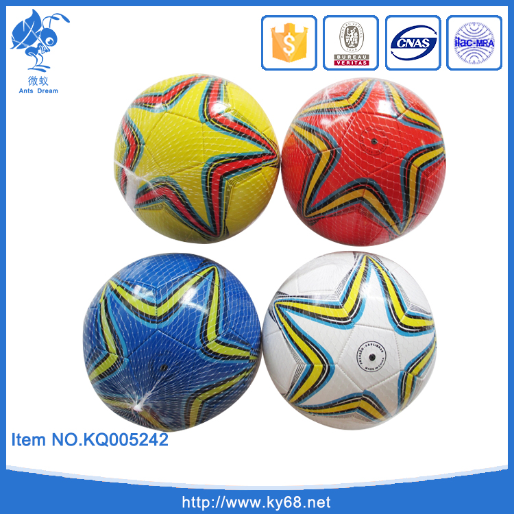 Cheap PVC Machine Stitched Size 9 inch Promotional Globe Soccer <strong>Ball</strong> ,Bulk Training Football Wholesale