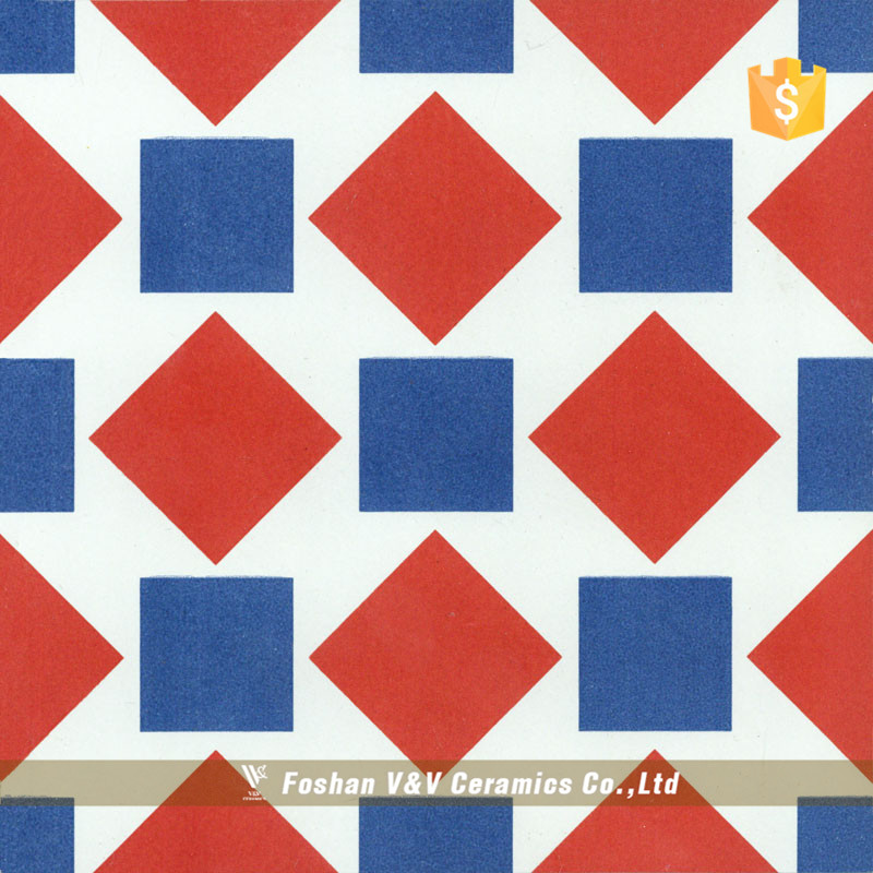 Decorative Interior Heat Resistant Ceramic Floor Tiles