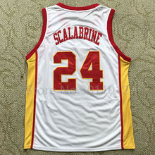 87c5cba2382 ... BRIAN SCALABRINE White Mamba USC Trojans Throwback College Basketball  Jersey Embroidery Stitched Custom Any Name and ...